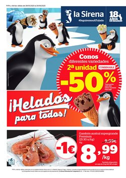 Ofertas de Hiper-Supermercados en el catálogo de La Sirena en Getafe ( 20 días más )