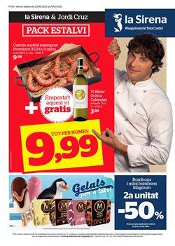 Ofertas de Hiper-Supermercados en el catálogo de La Sirena en Garriga ( 21 días más )