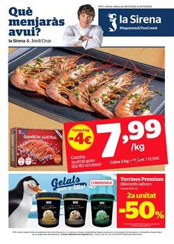 Ofertas de Hiper-Supermercados en el catálogo de La Sirena en Calella ( 24 días más )