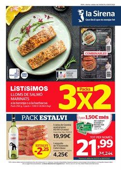 Ofertas de Hiper-Supermercados en el catálogo de La Sirena ( Caduca hoy)
