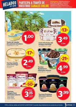 Ofertas de Ben & Jerry's en el catálogo de La Sirena ( 2 días más)