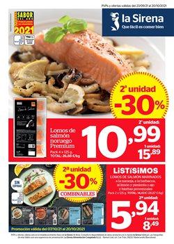 Ofertas de Hiper-Supermercados en el catálogo de La Sirena ( Publicado ayer)