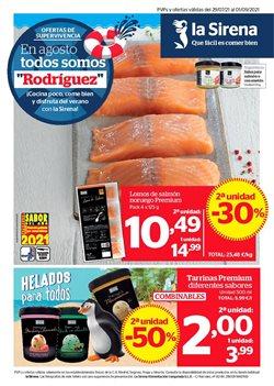 Ofertas de Hiper-Supermercados en el catálogo de La Sirena ( 2 días publicado)