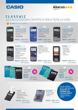 Ofertas de Calculadora  en el folleto de Abacus en Lleida
