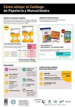 Ofertas de Material de papelería  en el folleto de Abacus en Vila-real