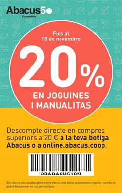 Ofertas de Abacus  en el folleto de L'Hospitalet de Llobregat