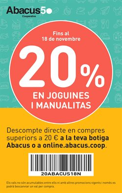 Ofertas de Abacus  en el folleto de Castellón de la Plana