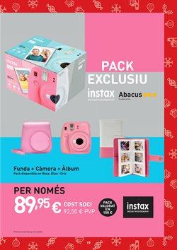 Ofertas de Cámara de fotos  en el folleto de Abacus en Paterna