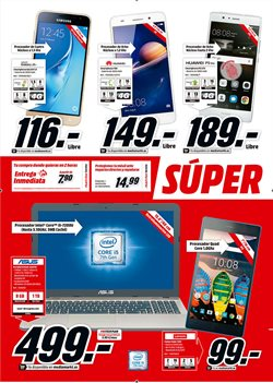 Ofertas de Tablet  en el folleto de Media Markt en Madrid