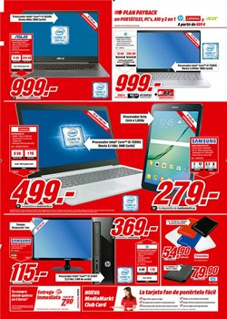 Ofertas de Ordenador portátil  en el folleto de Media Markt en Madrid