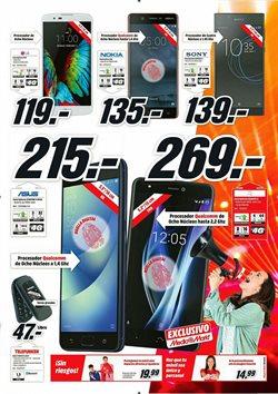 Ofertas de Smartphones  en el folleto de Media Markt en Vecindario