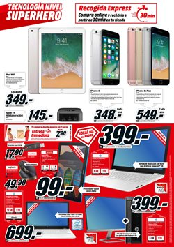 Ofertas de Tablet  en el folleto de Media Markt en León