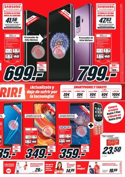 Ofertas de Nokia  en el folleto de Media Markt en Vecindario