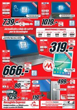 Ofertas de Tablet  en el folleto de Media Markt en Alcalá de Henares