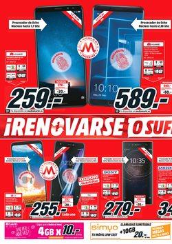 Ofertas de Smartphones Huawei  en el folleto de Media Markt en Alcalá de Henares