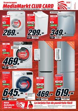Ofertas de Lavadora carga frontal  en el folleto de Media Markt en Telde