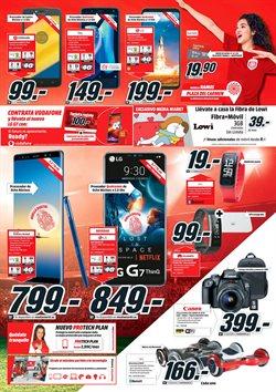 Ofertas de LG  en el folleto de Media Markt en Barcelona