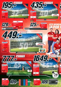 Ofertas de Tv led  en el folleto de Media Markt en Madrid