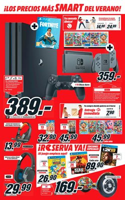 Ofertas de PS4  en el folleto de Media Markt en León