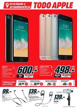 Ofertas de Iphone 7  en el folleto de Media Markt en Jerez de la Frontera