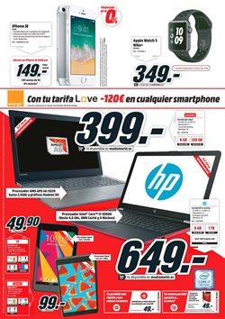 Ofertas de Tablet  en el folleto de Media Markt en Vila-real