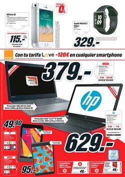 Ofertas de Ordenador portátil  en el folleto de Media Markt en Las Palmas de Gran Canaria
