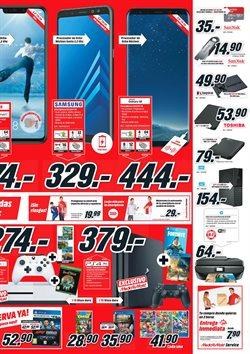 Ofertas de Smartphones Samsung  en el folleto de Media Markt en Vecindario