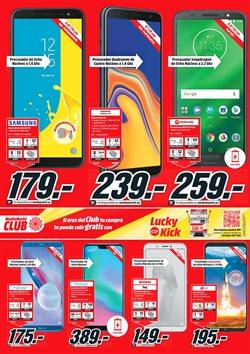 Ofertas de Smartphones  en el folleto de Media Markt en Torrejón
