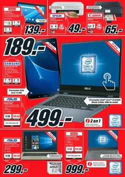 Ofertas de Tablet  en el folleto de Media Markt en Valladolid