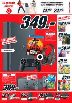 Ofertas de Juegos PS4  en el folleto de Media Markt en Alcalá de Henares