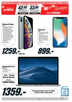 Ofertas de IPhone  en el folleto de Media Markt en León