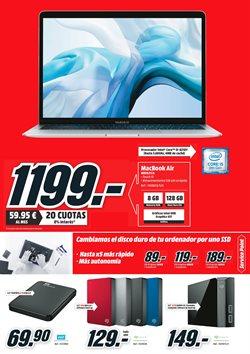 Ofertas de Disco duro externo  en el folleto de Media Markt en Madrid