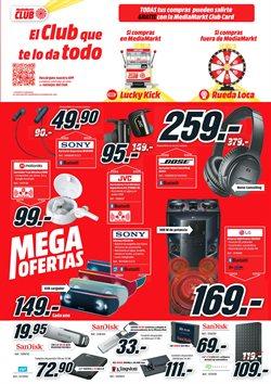 Ofertas de Auriculares  en el folleto de Media Markt en San Sebastián de los Reyes
