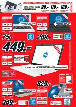 Ofertas de Ordenador portátil  en el folleto de Media Markt en Vecindario