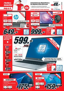 Ofertas de Tablet  en el folleto de Media Markt en Siero