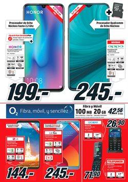 Ofertas de Telefonía  en el folleto de Media Markt en San Cristobal de la Laguna (Tenerife)