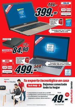 Ofertas de Toshiba  en el folleto de Media Markt en Barcelona