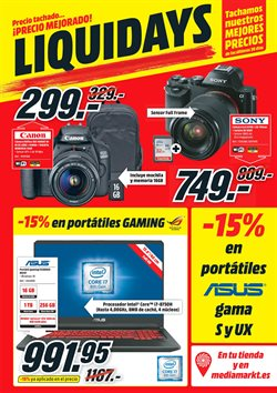 Ofertas de Canon  en el folleto de Media Markt en Madrid
