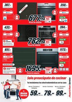 Ofertas de Hornos  en el folleto de Media Markt en Madrid