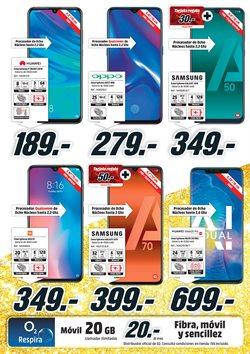 Ofertas de Smartphones  en el folleto de Media Markt en Mairena del Aljarafe