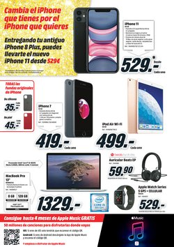 Ofertas de Media Markt  en el folleto de Siero