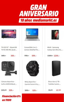 Catálogo Media Markt ( 4 días más)