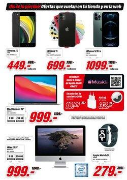 Ofertas de Apple en el catálogo de Media Markt ( Caduca mañana)