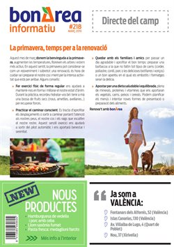 Ofertas de bonÀrea  en el folleto de Leganés