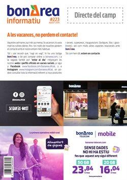 Ofertas de bonÀrea  en el folleto de Sant Cugat del Vallès