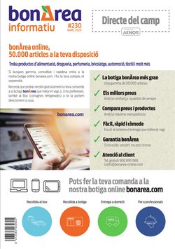 Catálogo bonÀrea en Roda de Ter ( Caducado )