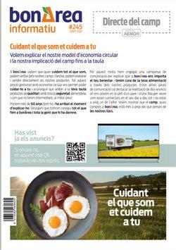 Catálogo bonÀrea ( Publicado hoy)
