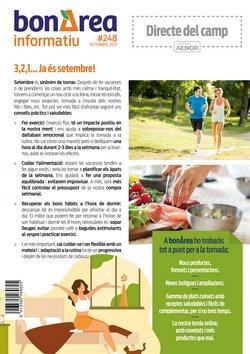 Catálogo bonÀrea ( Publicado ayer)