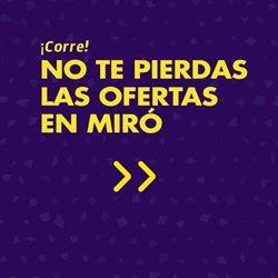 Ofertas de Miró  en el folleto de Barcelona