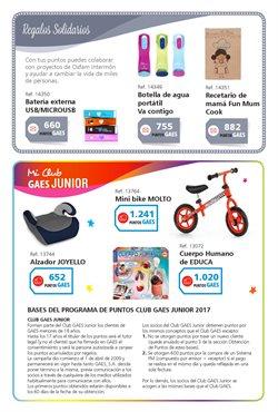 Ofertas de Bicicletas  en el folleto de GAES en Sanlúcar de Barrameda